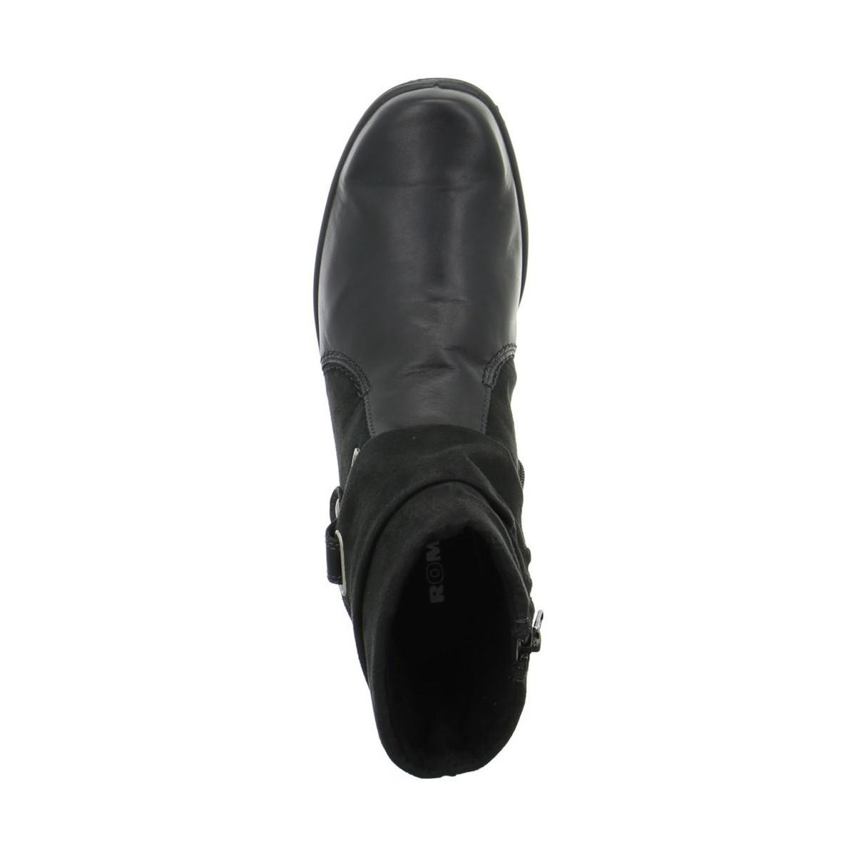 Romika Cassie 12 Women's Low Ankle Boots In Black