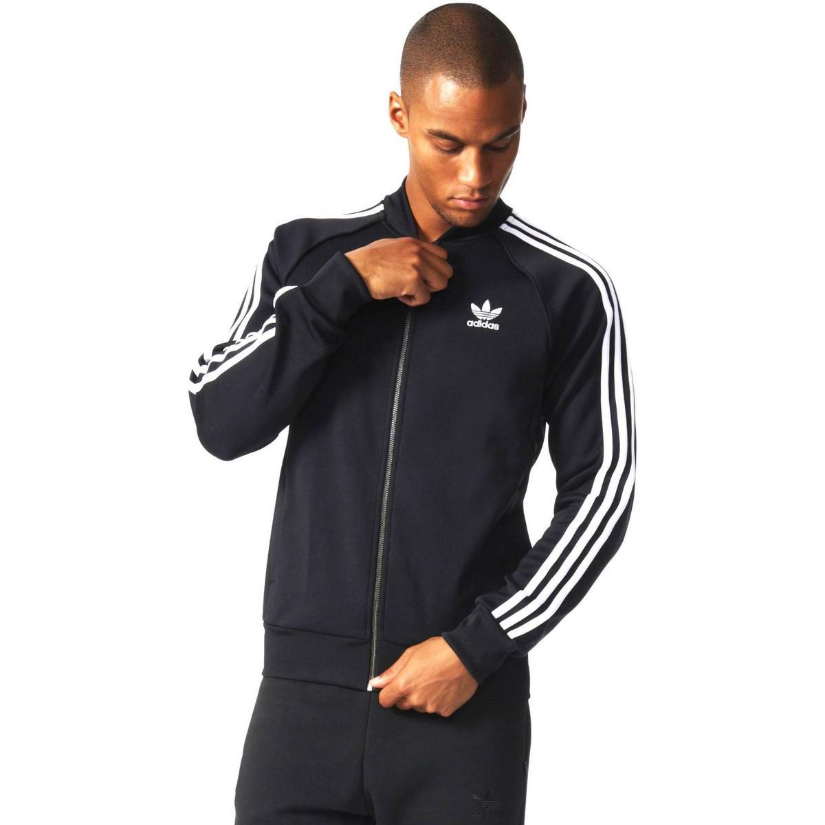 adidas Bk5921 Jacket Man Black Men's Tracksuit Jacket In Black for Men