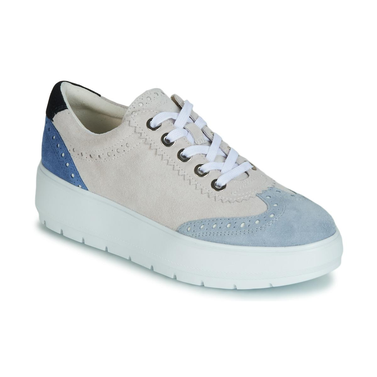 a9a19c7dce75d Geox D Kaula Women's Shoes (trainers) In White in White - Lyst