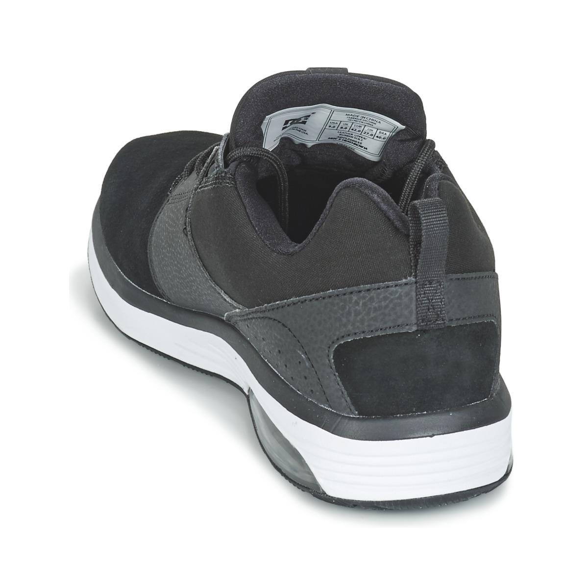 DC Shoes Lage Sneakers Heathrow Ia M Shoe 001 in het Zwart voor heren