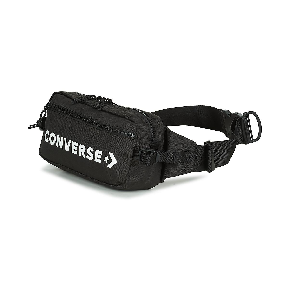 b57e1c1f75ed Converse - Fast Pack Cross Body Men s Hip Bag In Black for Men - Lyst. View  fullscreen