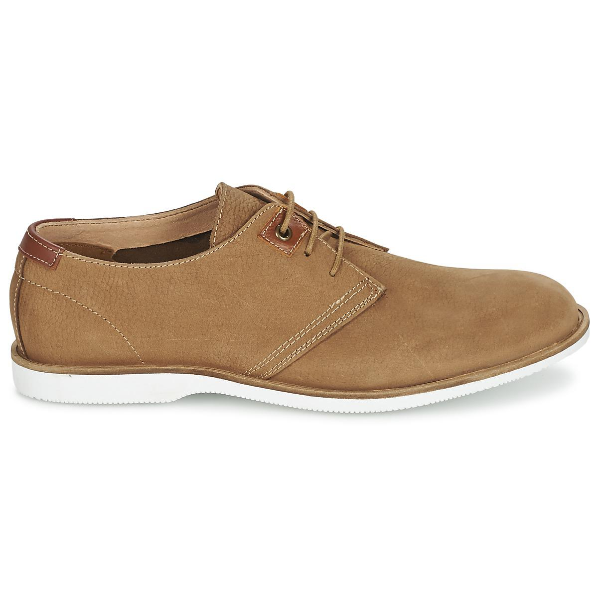 Casual Attitude Leather Gravelote Casual Shoes in Brown for Men