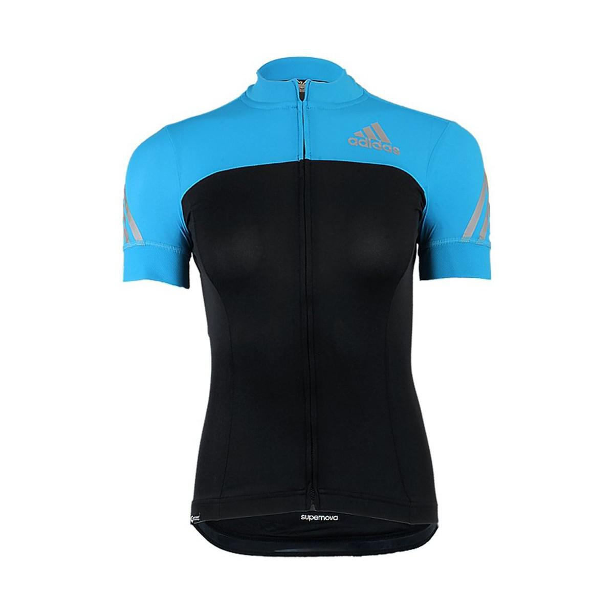Adidas - Supernova Shortsleeve Cycling Jersey W Women s T Shirt In Black -  Lyst. View fullscreen 3406dddb8
