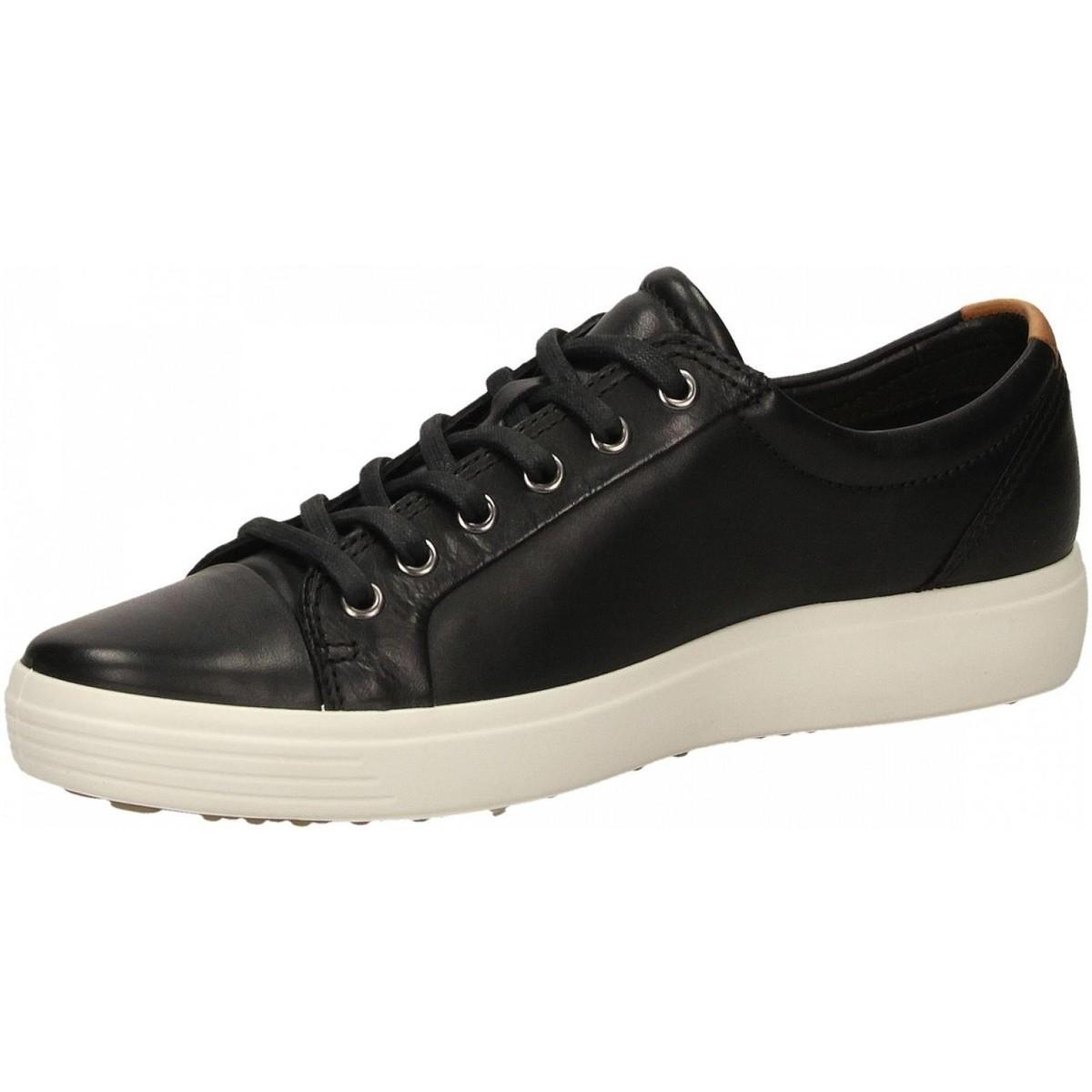 Ecco Lage Sneakers Soft 7 M Black Droid voor heren