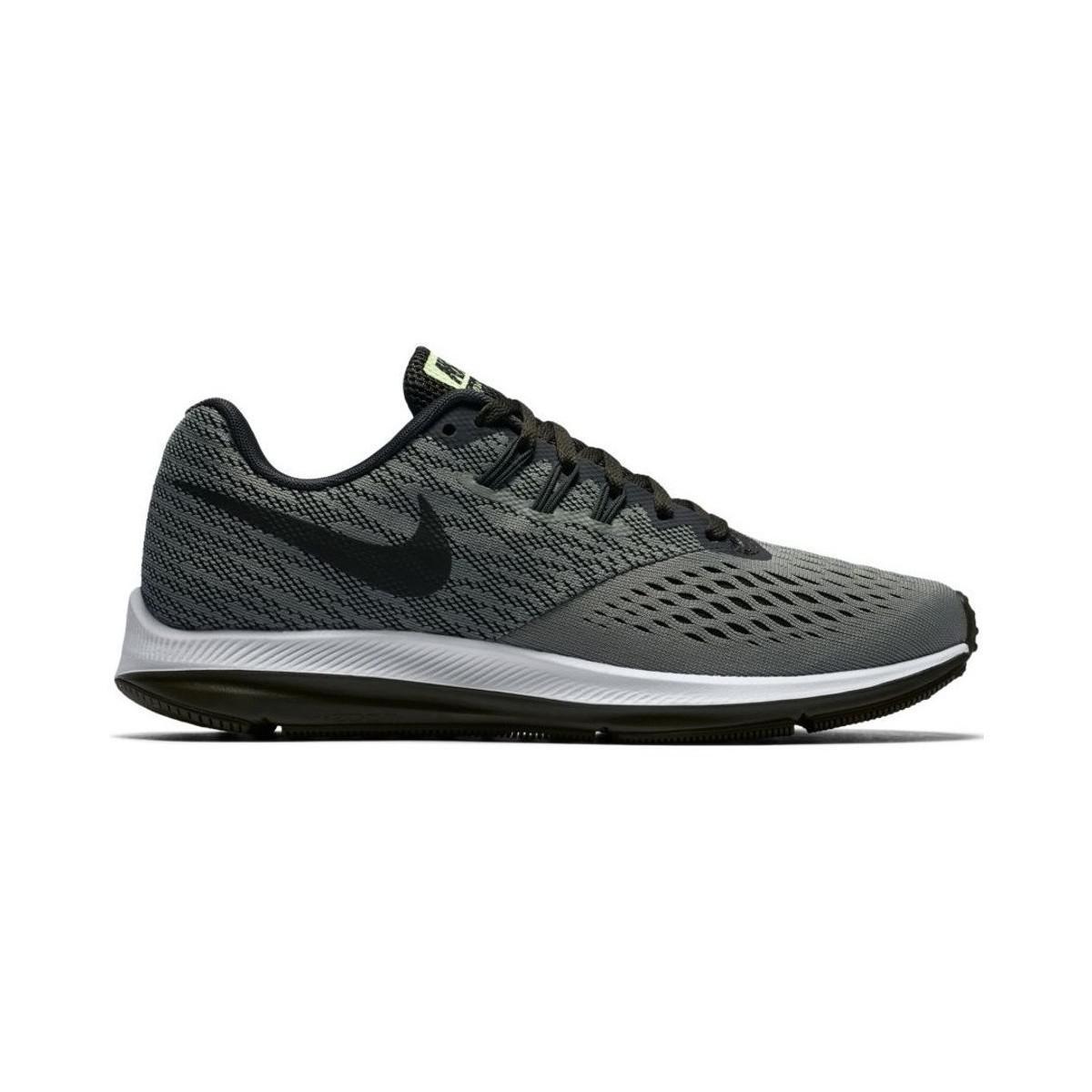 8a6fe0a402b Nike Zoom Winflo 4 Shoe W Women s Shoes (trainers) In Black in Black ...