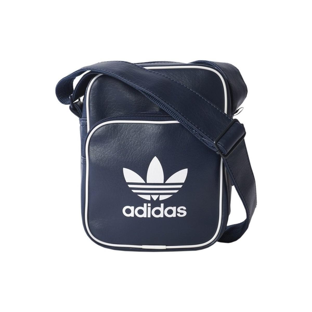 0e405c1065 adidas Classic Bag Mini Men s Messenger Bag In Multicolour in Blue ...