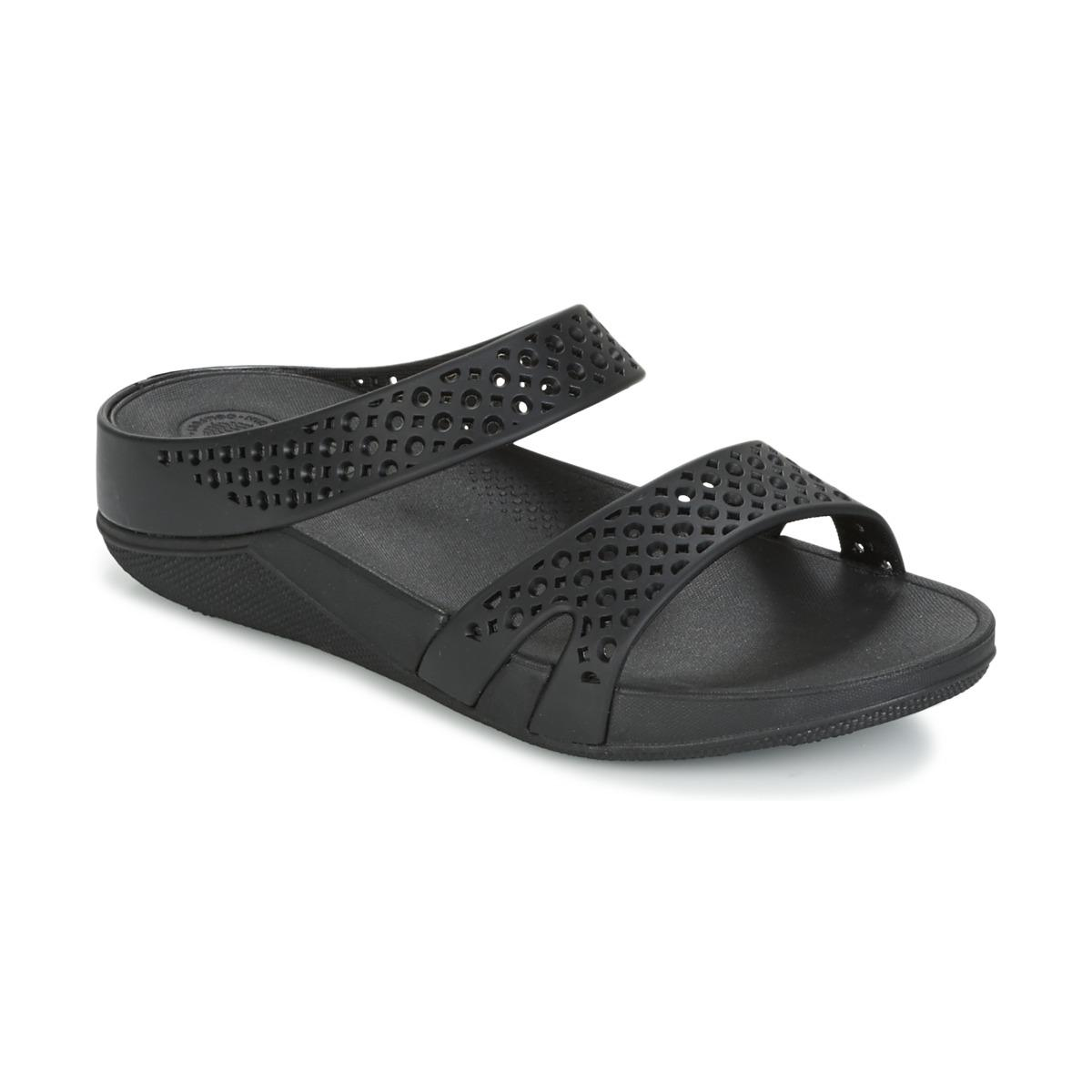 Discount Fitflop Welljelly Zslide Sandal Mules All / Black For Women