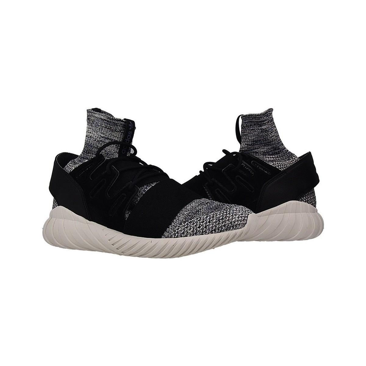 adidas Tubular Doom Primeknit Men's Shoes (high-top Trainers) In Multicolour in Black for Men