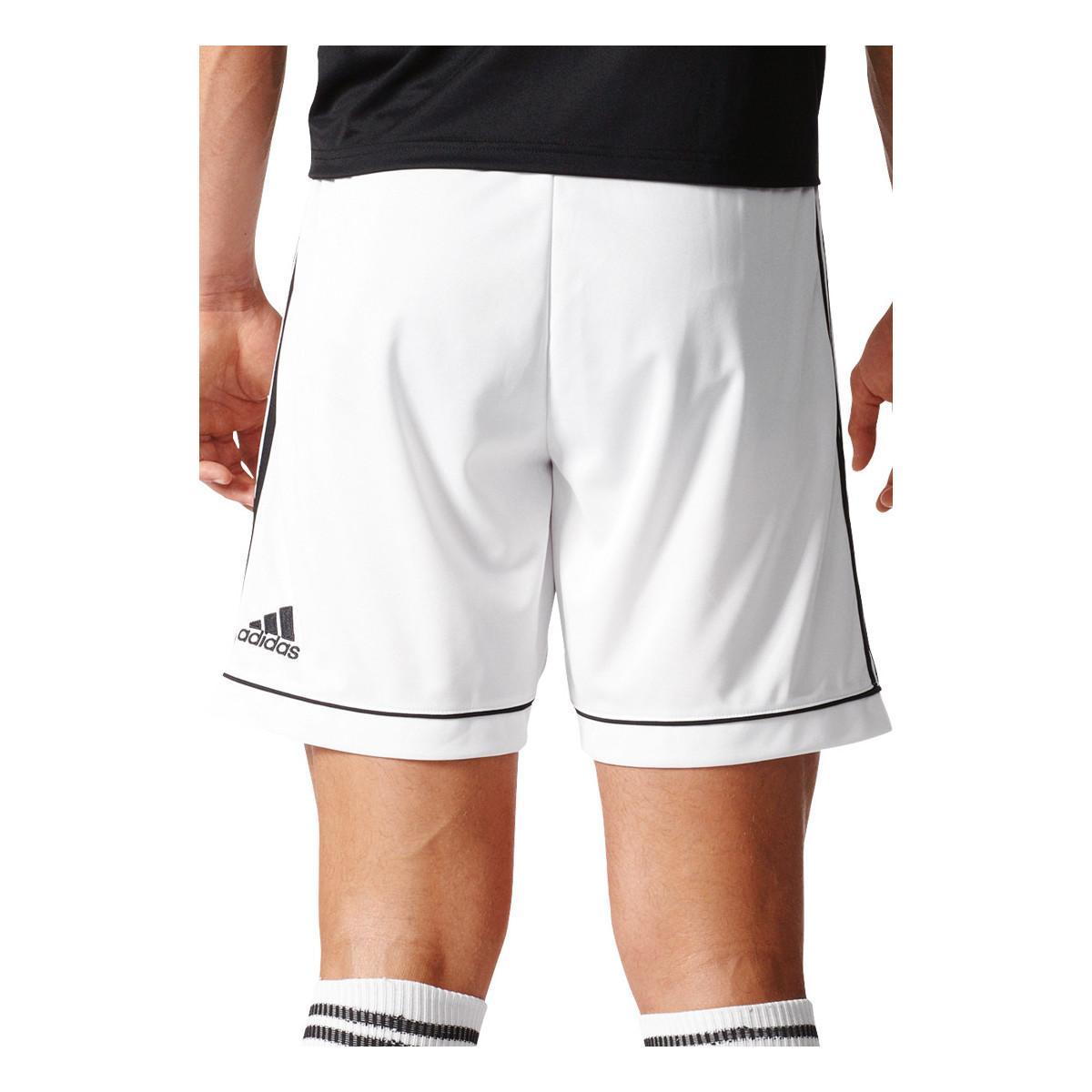 adidas Broek Squadra 17 Short in het Wit voor heren