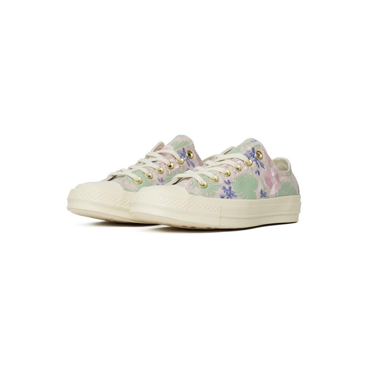 Converse Chuck Taylor All Star 70 Women's Shoes (trainers) In Multicolour in White