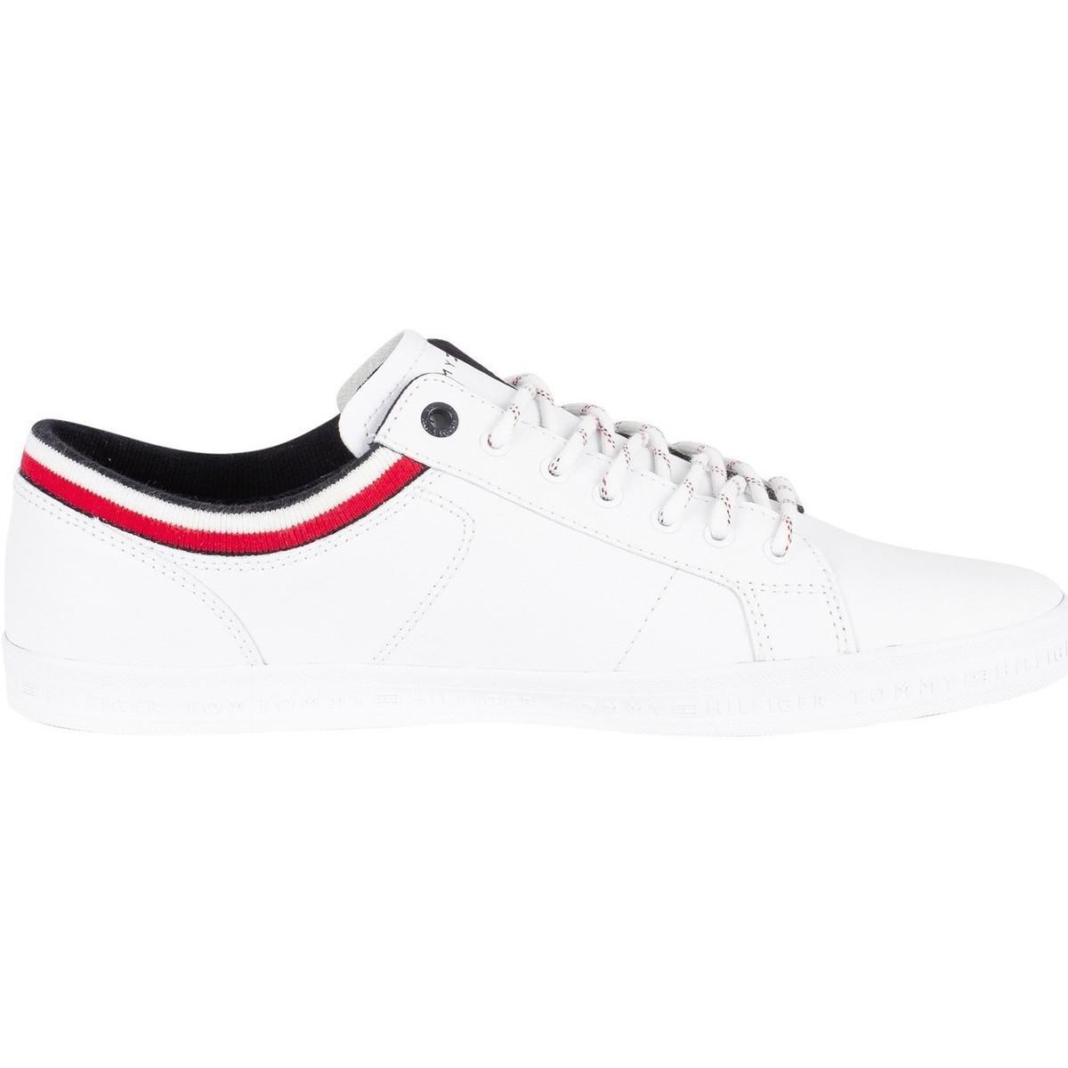 Homme Baskets basses essentielles, Blanc hommes Chaussures