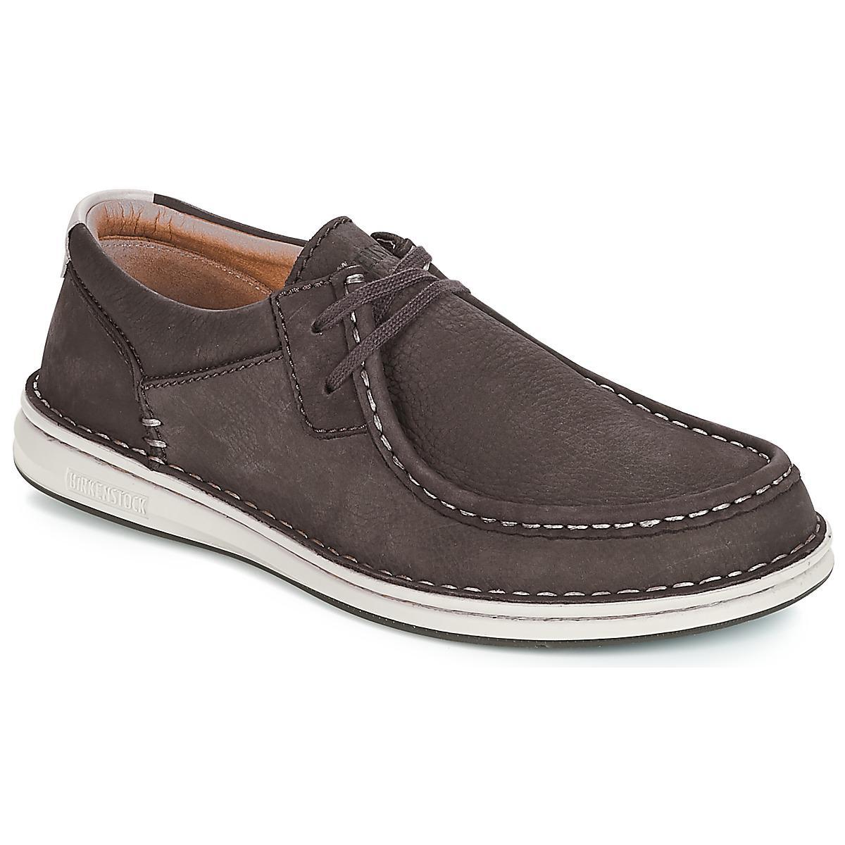 00dda9a730c Birkenstock Pasadena Men's Boat Shoes In Brown for Men - Lyst