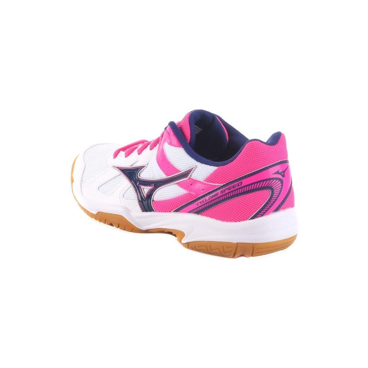 Mizuno Cyclone Speed Womens Women's Shoes (trainers) In Pink