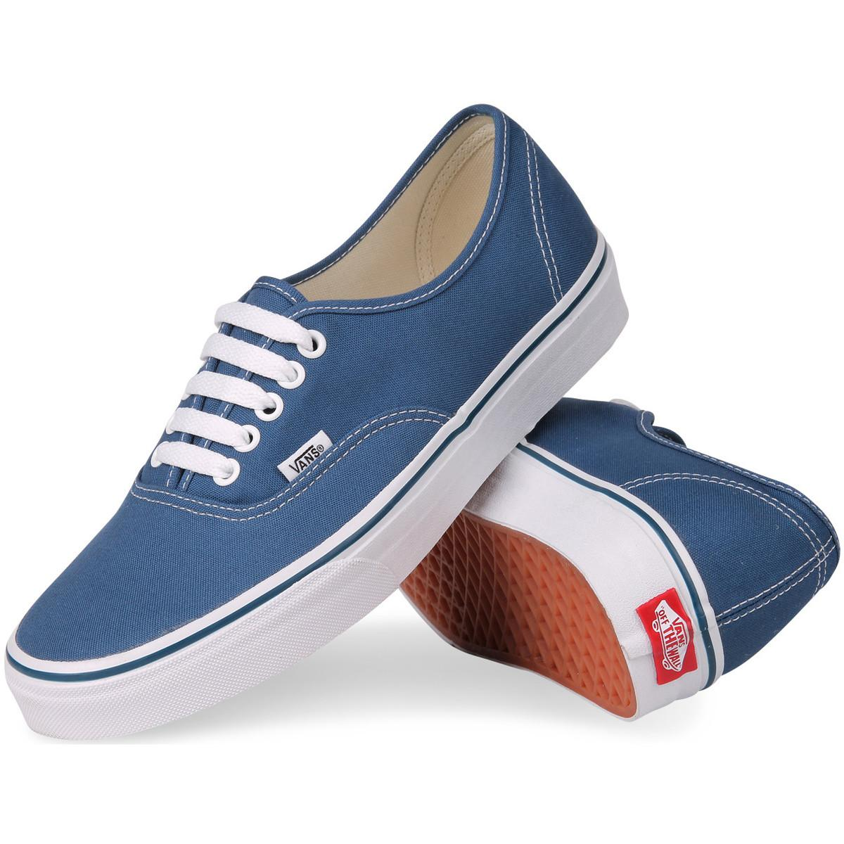 Vans Tennisschoenen Authentic in het Blauw voor heren