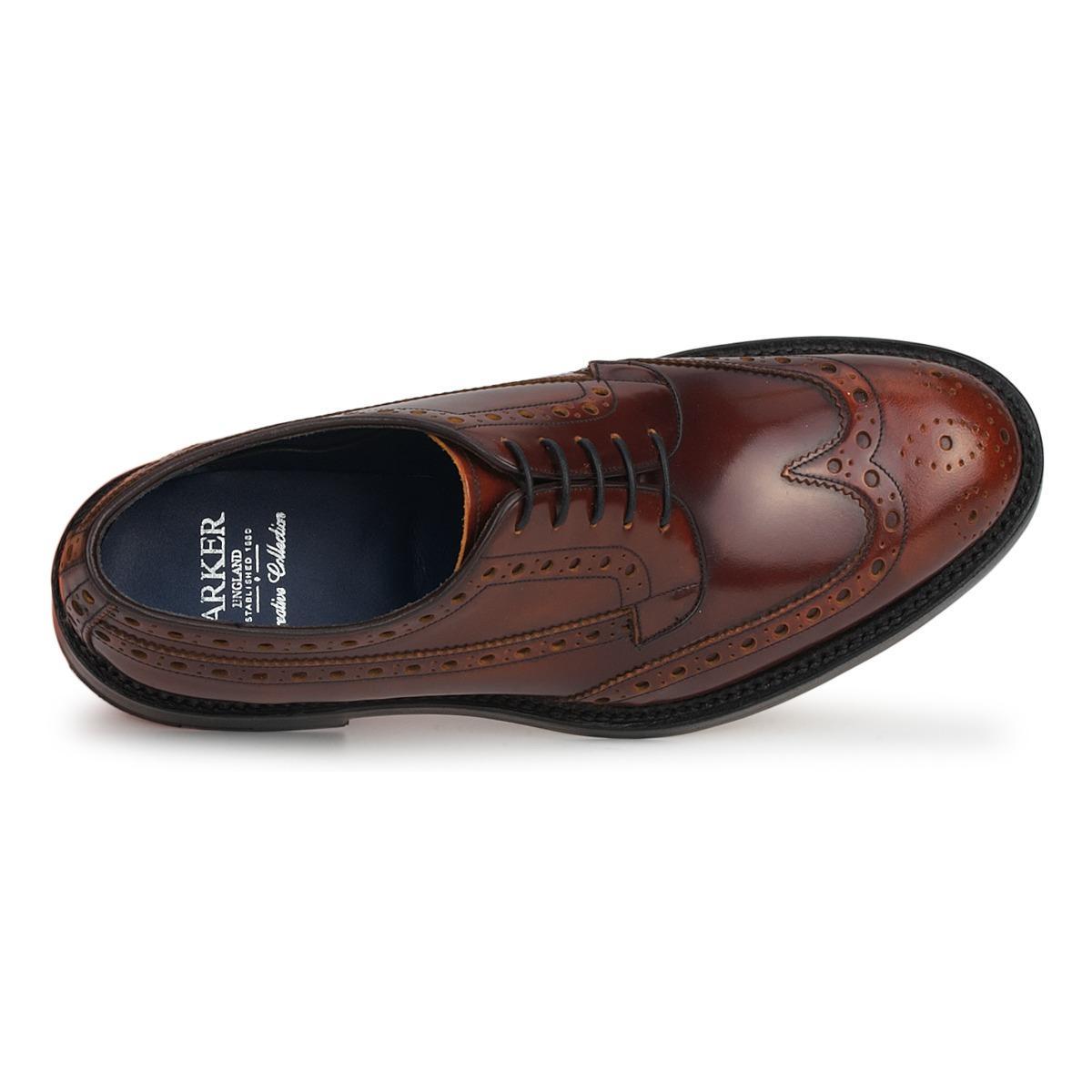 Barker Nette Schoenen Anderson in het Bruin voor heren