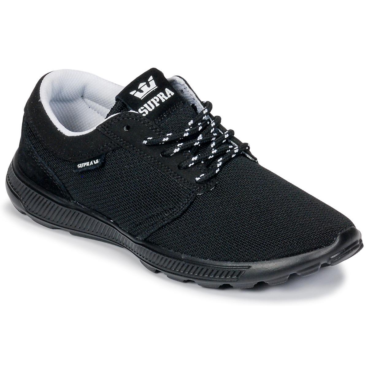 65d099fa708d Supra - Hammer Run Men s Shoes (trainers) In Black for Men - Lyst. View  fullscreen