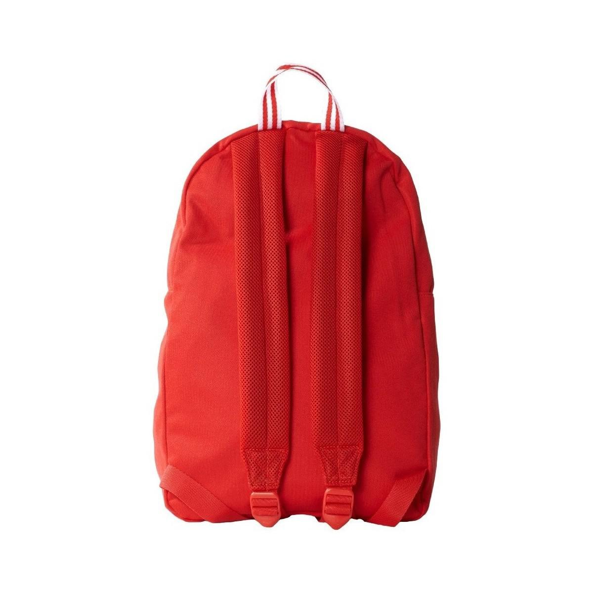 adidas Classic Tricot Men s Backpack In Red in Red - Lyst 9d052aa3fb