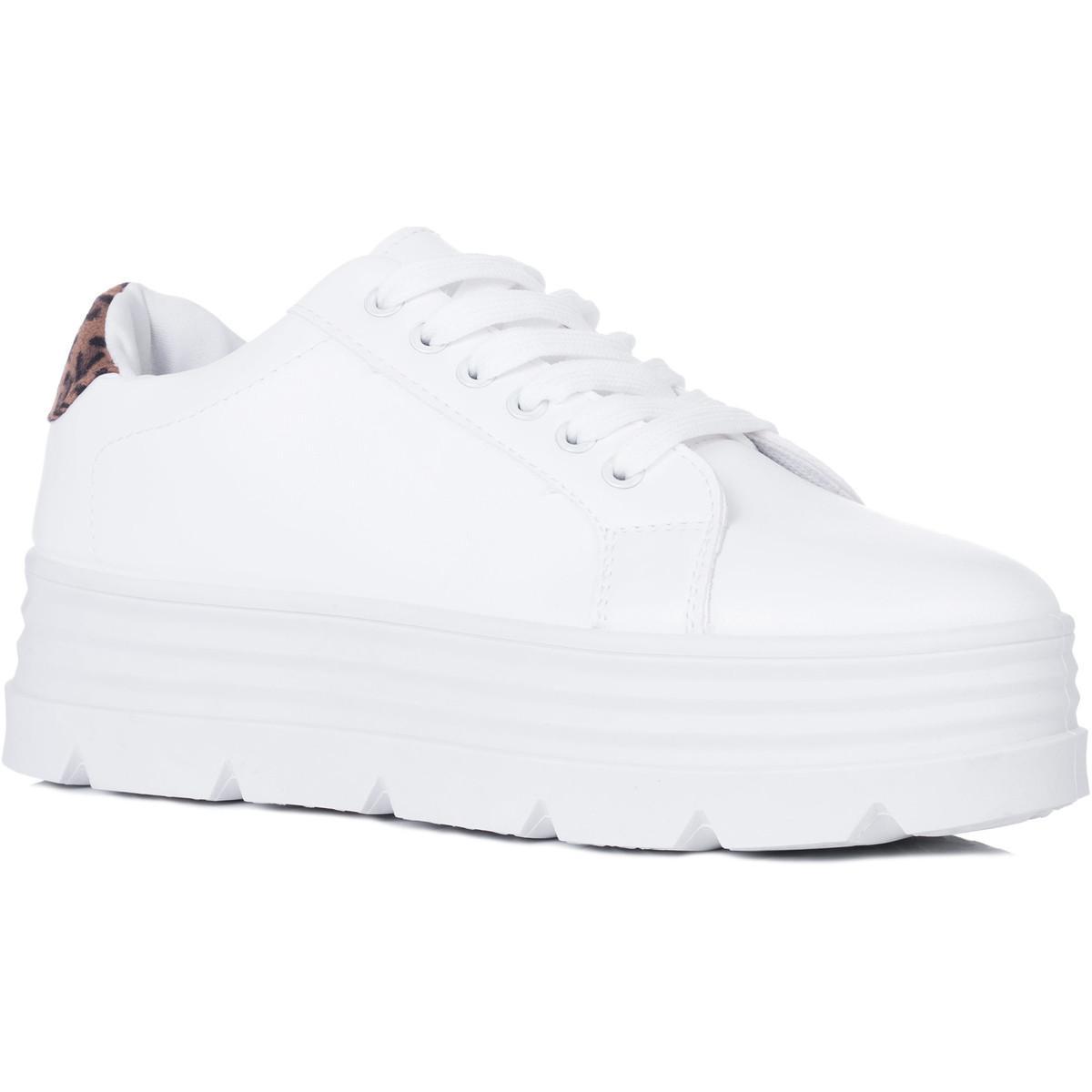 a41966bd8 SPYLOVEBUY Loowey Women's Shoes (trainers) In Brown in Brown - Lyst
