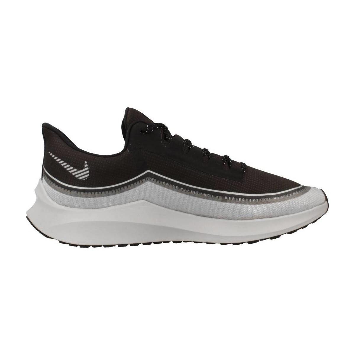 Nike Lage Sneakers Zoom Winflo 6 Shield H in het Zwart voor heren