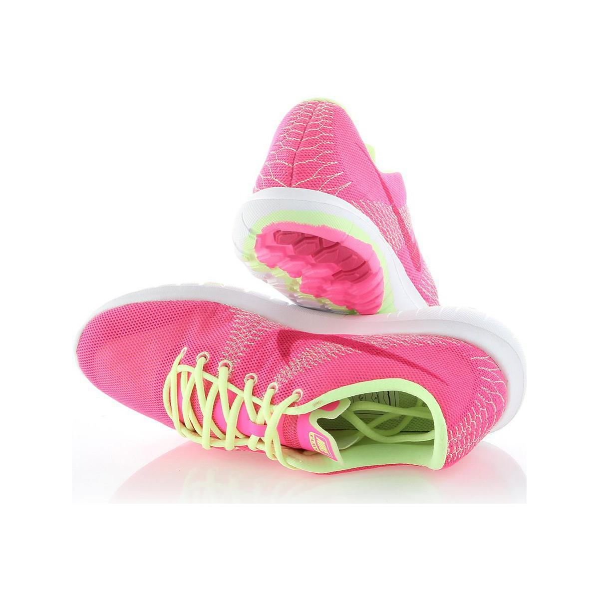 Nike Flex Fury Gs Women's Running Trainers In Pink