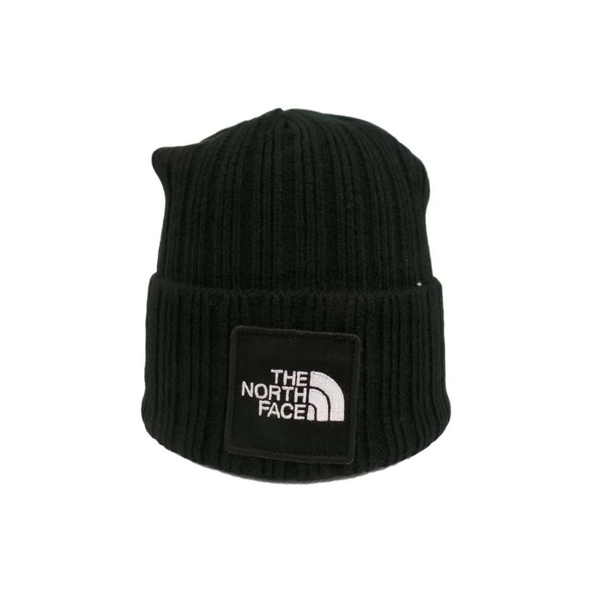 710c51eaf The North Face Tnf Logo Box Cuf Bne Men's Beanie In Black for Men - Lyst