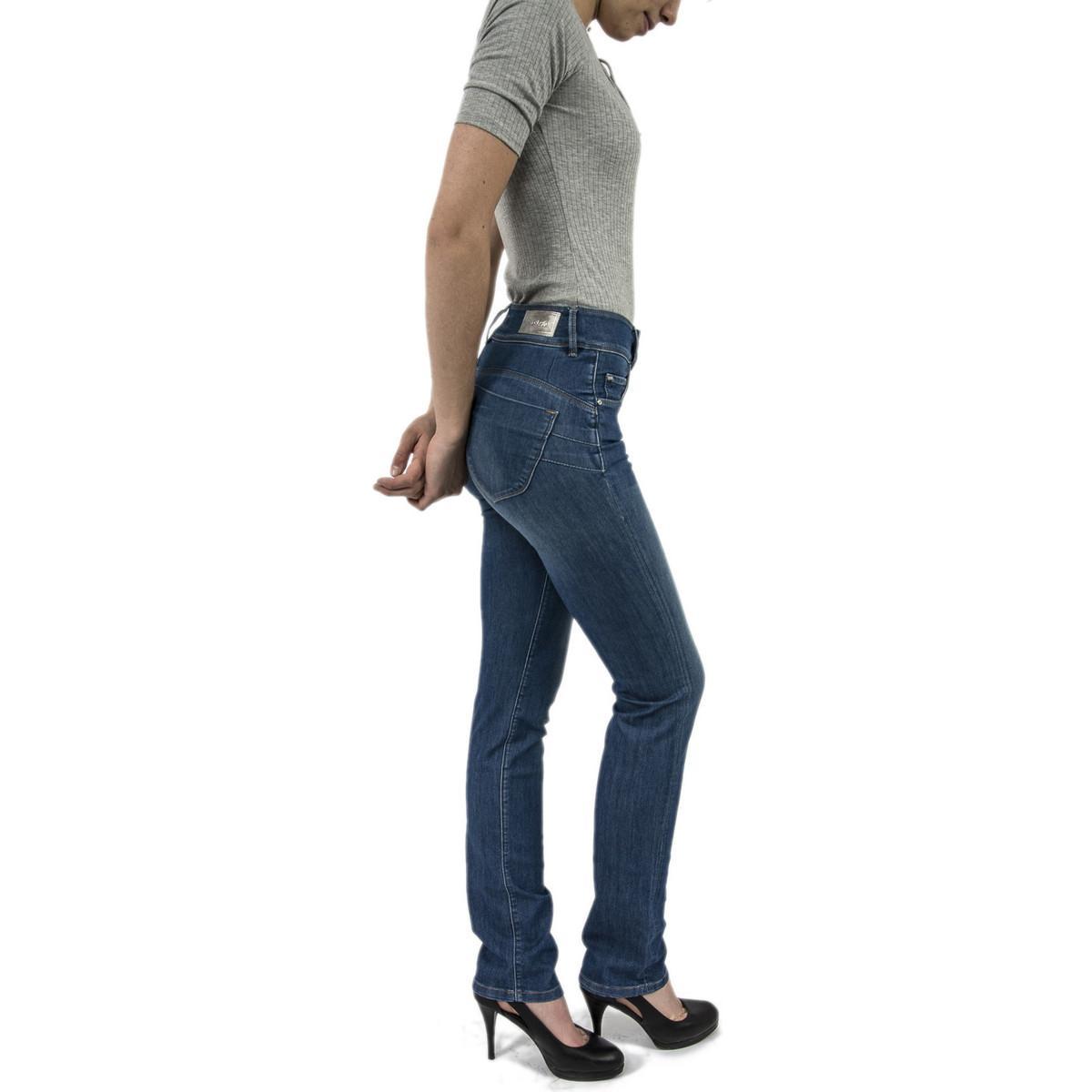 105503 - secret femmes Jeans en bleu Jean Salsa en coloris Bleu
