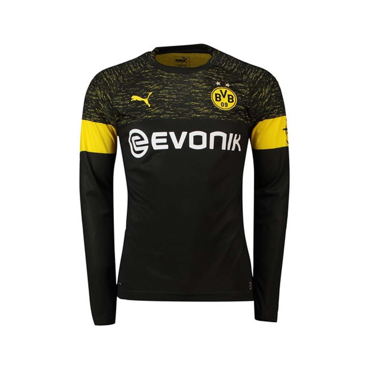 8b3b6ac5cfde7 PUMA 2018-2019 Borussia Dortmund Away Long Sleeve Shirt Men's In Black for  men