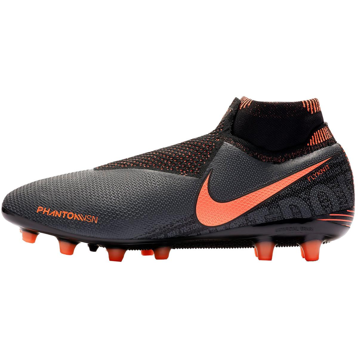 Nike Kant Voetbalschoenen Phantom Vision Elite Dynamic Fit Ag-pro in het Grijs voor heren