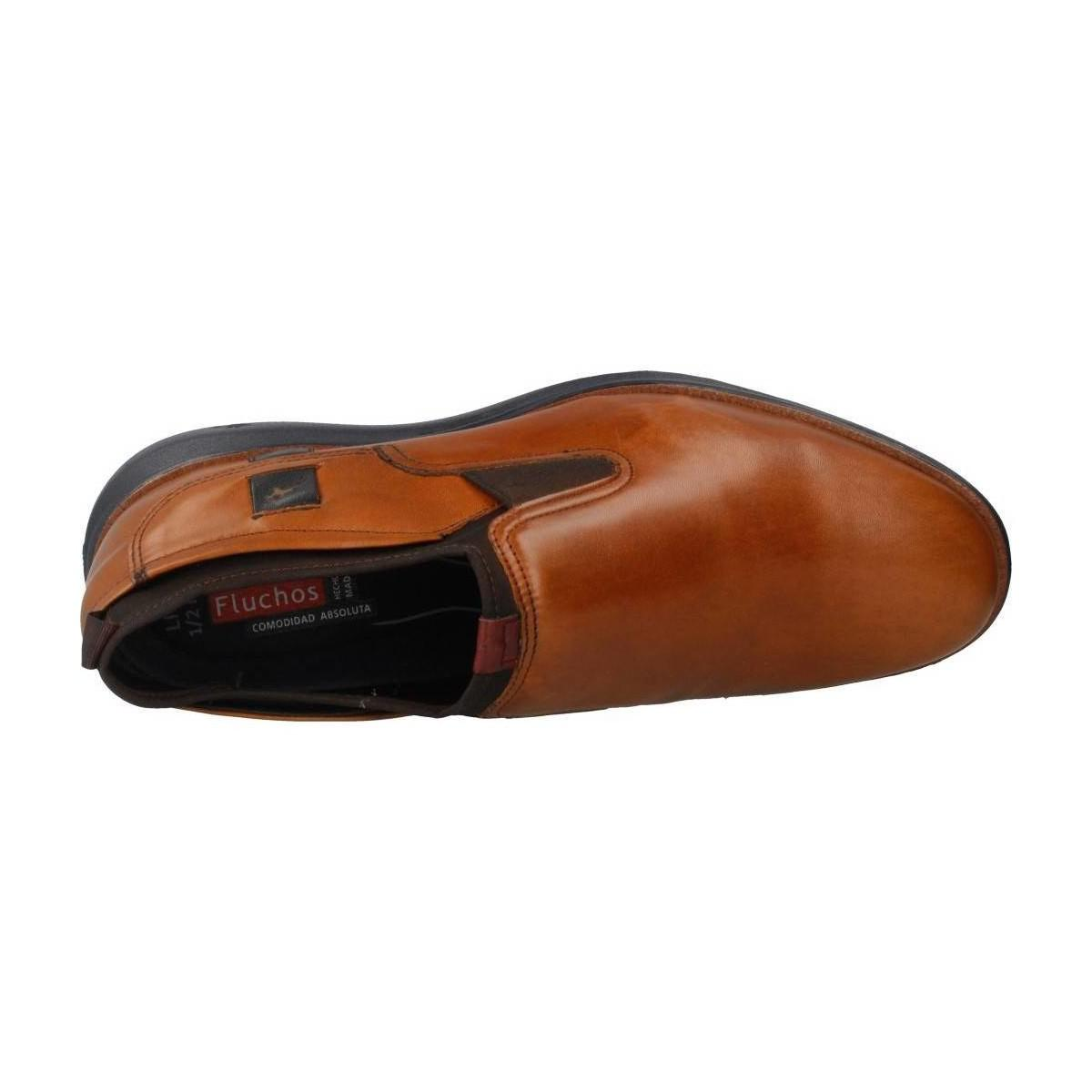 Fluchos 9850 Men's Loafers / Casual Shoes In Brown for Men