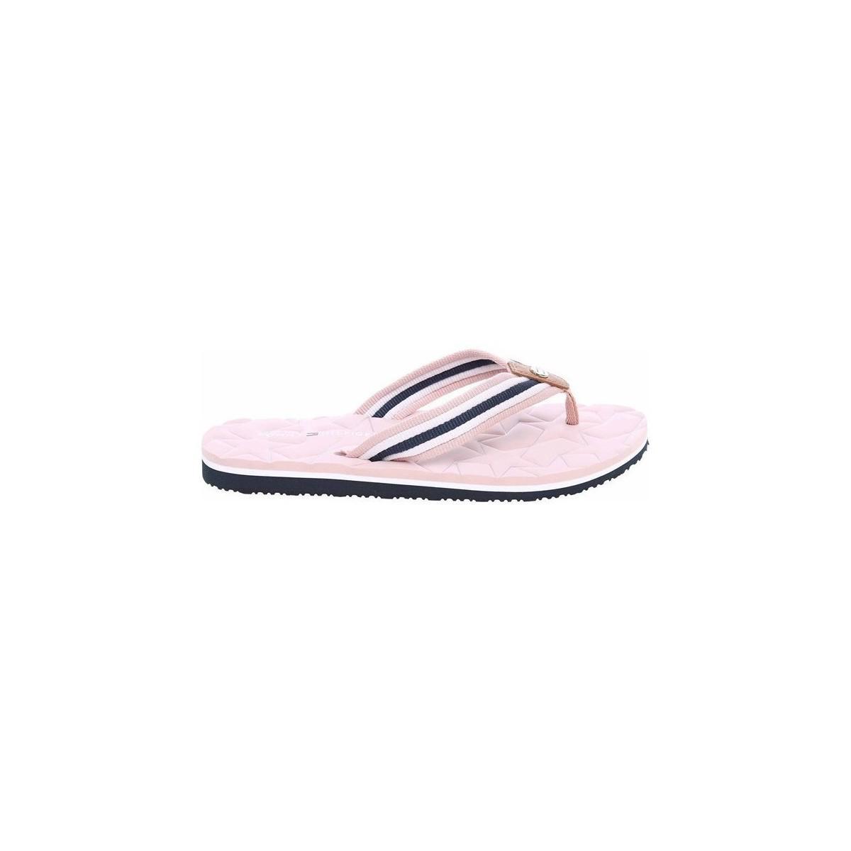 ac0154b26 Tommy Hilfiger Comfort Low Beach W8b Dusty Rose Women s Flip Flops ...