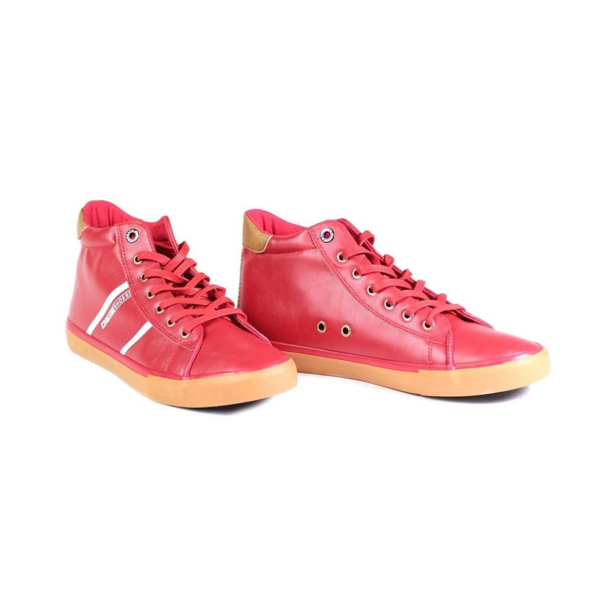 Big Star Bb174275 Men's Shoes (high-top Trainers) In Red for Men