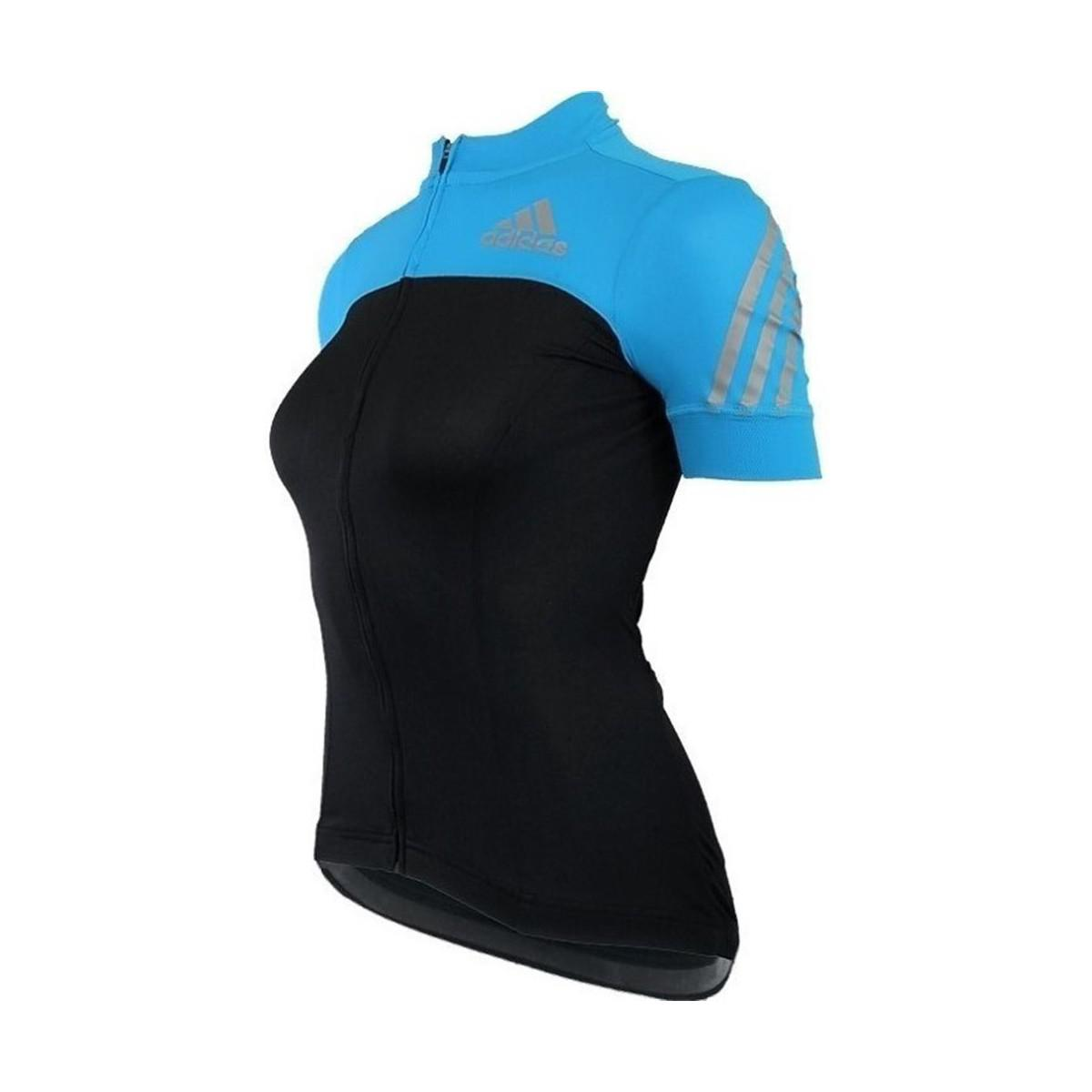 adidas. Supernova Shortsleeve Cycling Jersey W Women s T Shirt In Black fda9bfbcb