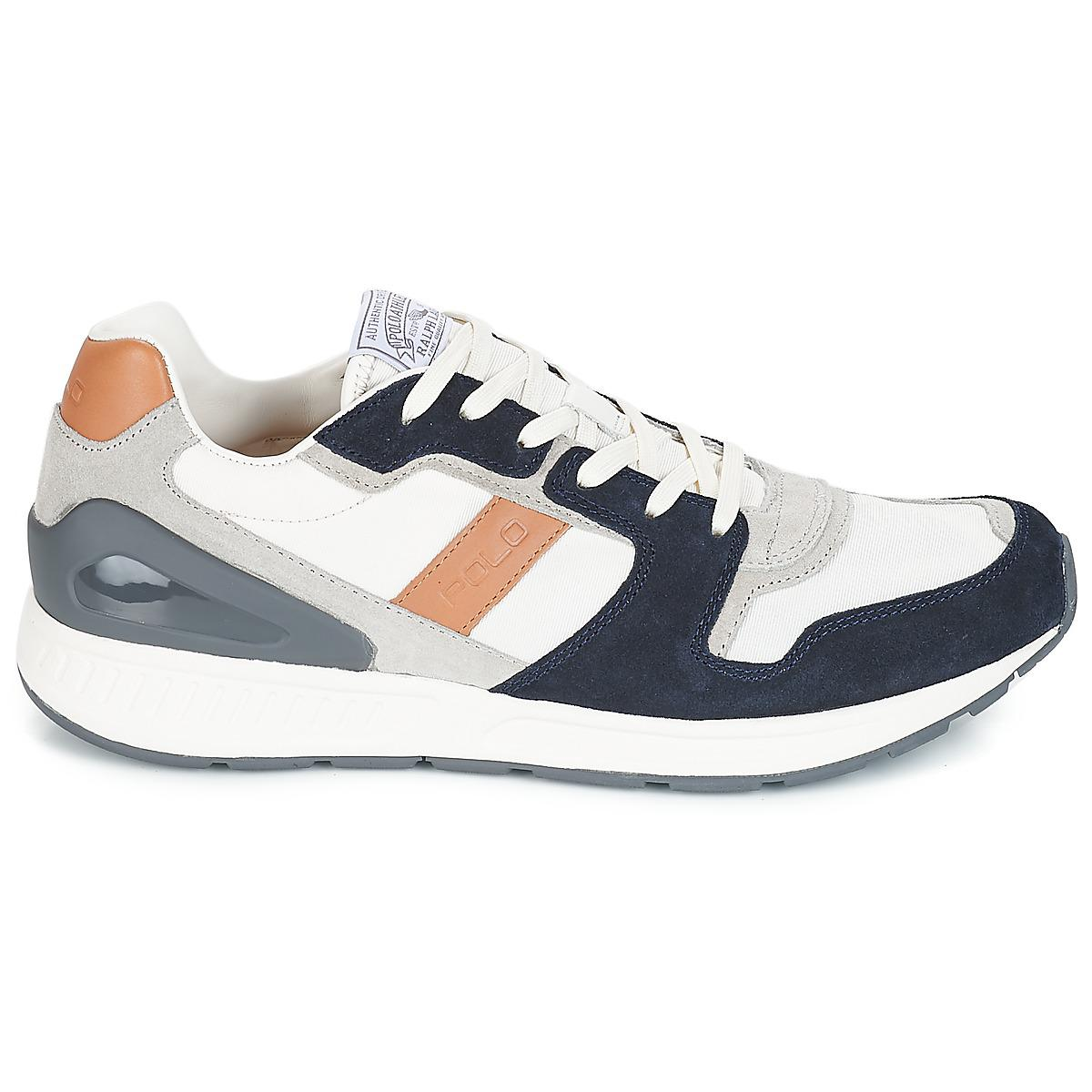 Polo Ralph Lauren - Gray Train 100 Cls Men s Shoes (trainers) In Grey for.  View fullscreen bddfa9cdcf9