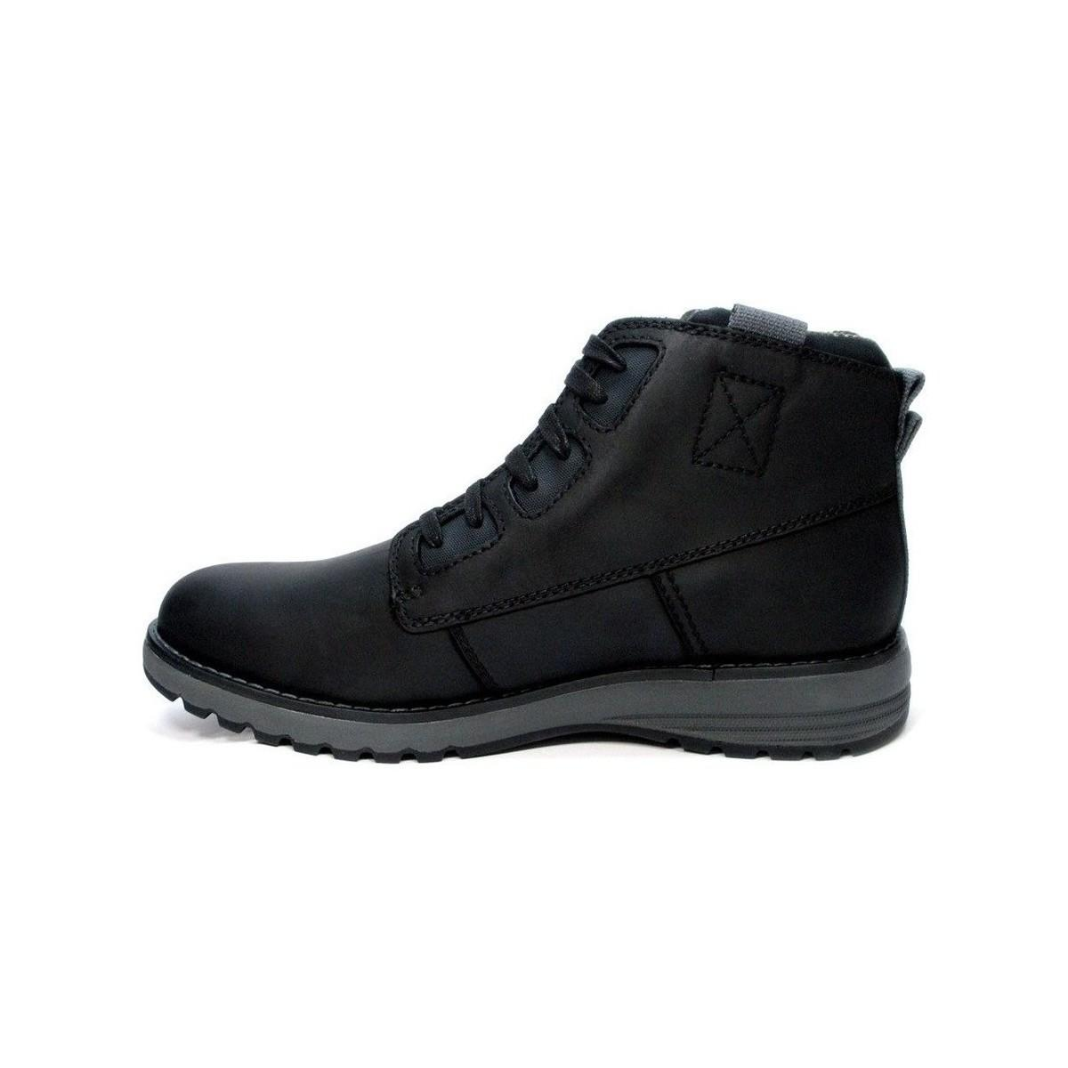 Caterpillar Cat Tate Wp Men's Shoes (high-top Trainers) In Black for Men - Save 38%