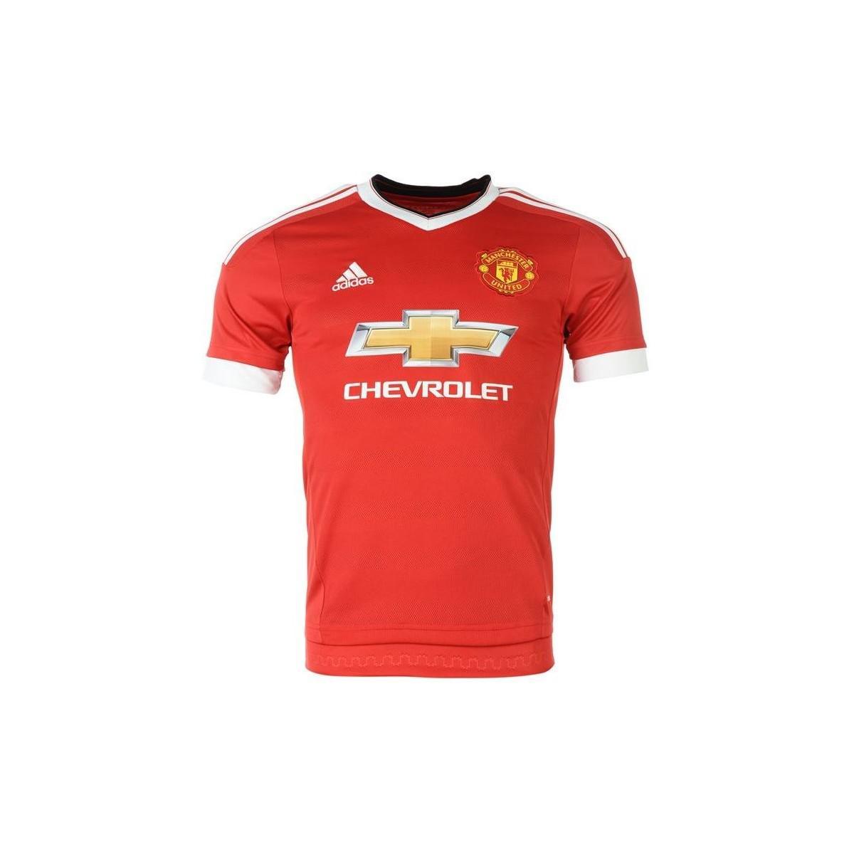 bb1de33f4d5 adidas. 2015-16 Man United Home Shirt (martial 9) - Kids Men s T Shirt In  Red