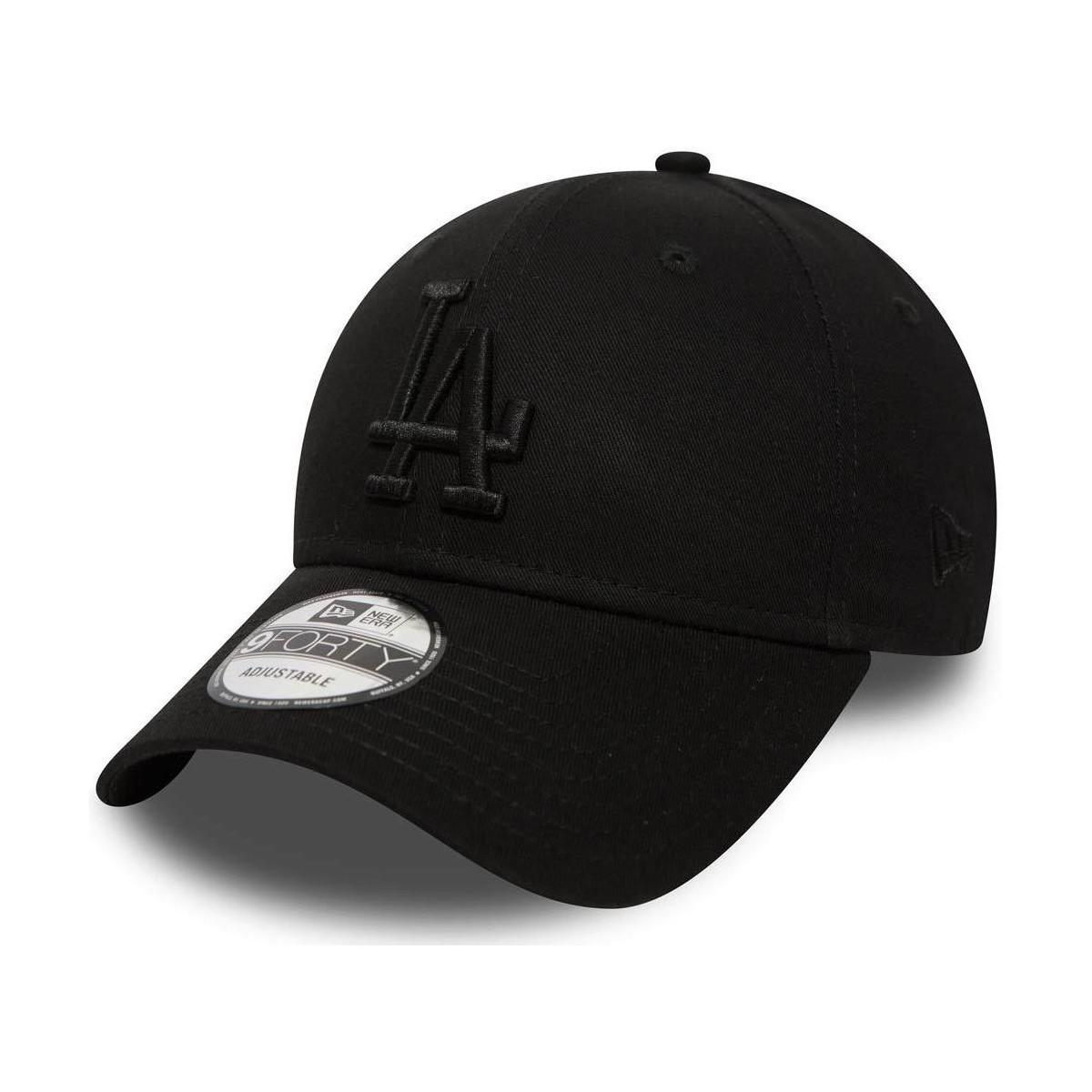Ktz La Dodgers 9forty Cap Womens Cap In Black In Black Lyst