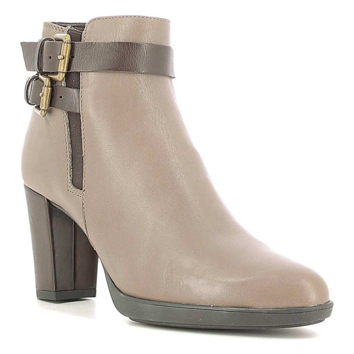 The Flexx B652/02 Ankle Boots Women Pietra Women's Low Ankle Boots In Grey in Grey