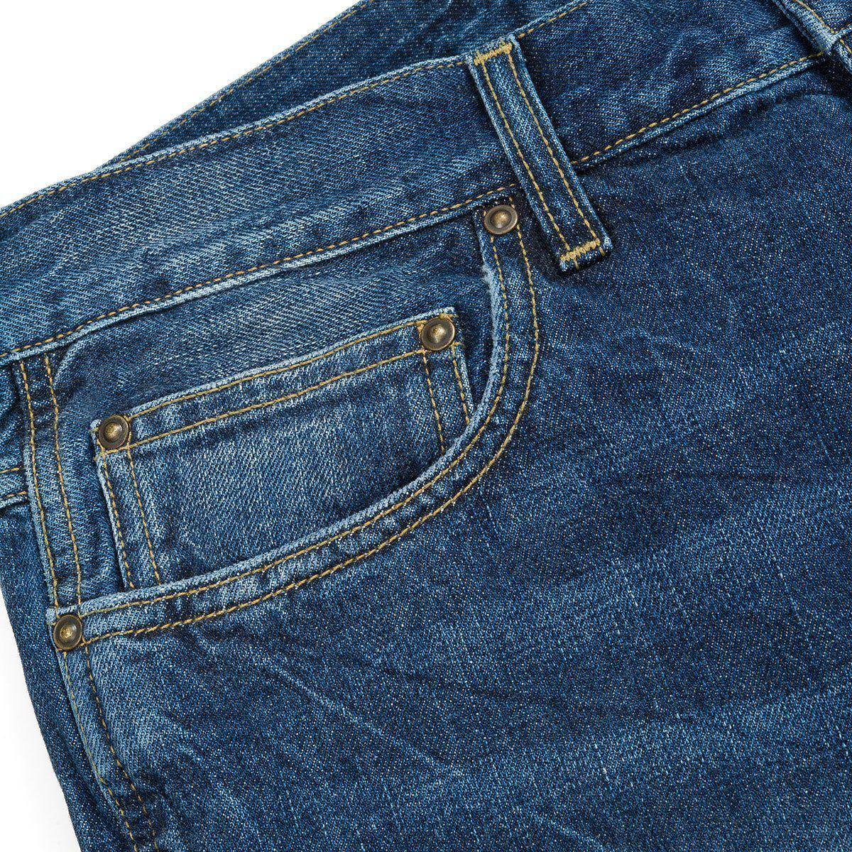 Carhartt Denim Wip Western Pant Ii Edgewood Jean Women's Jeans In Pink