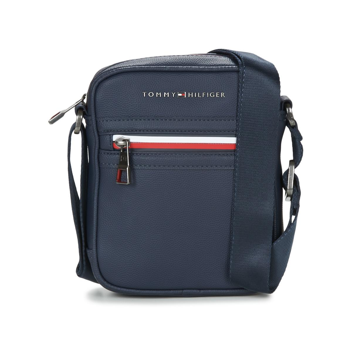 3acd76423 Tommy Hilfiger Essential Mini Reporter Ii Men's Pouch In Blue for men
