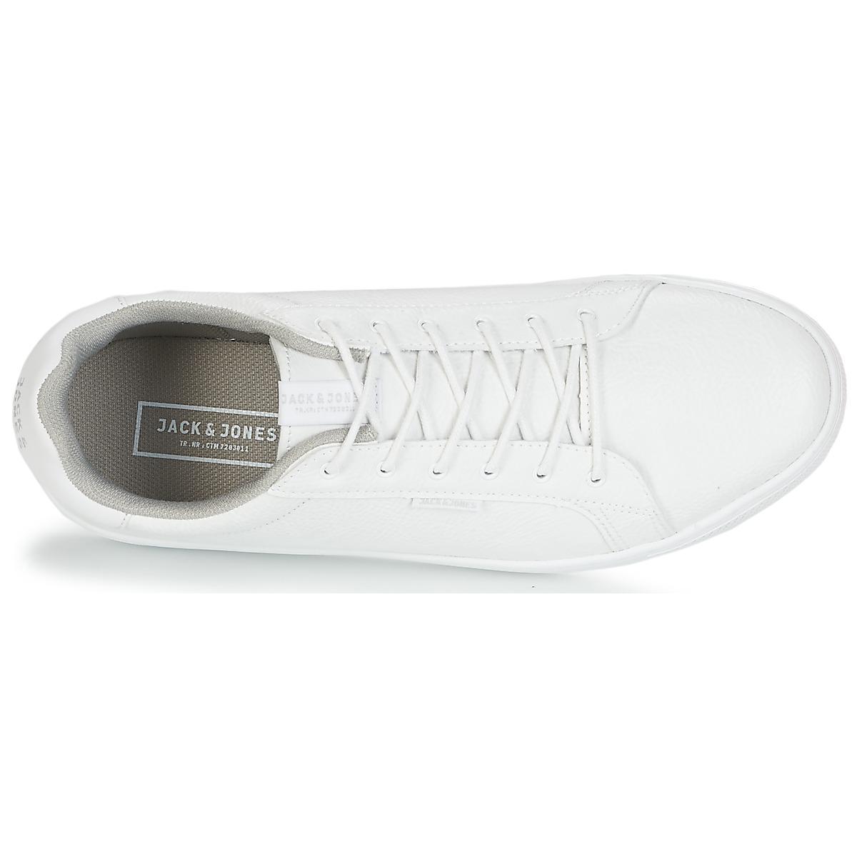 Jack & Jones Trent Men's Shoes (trainers) In White for Men