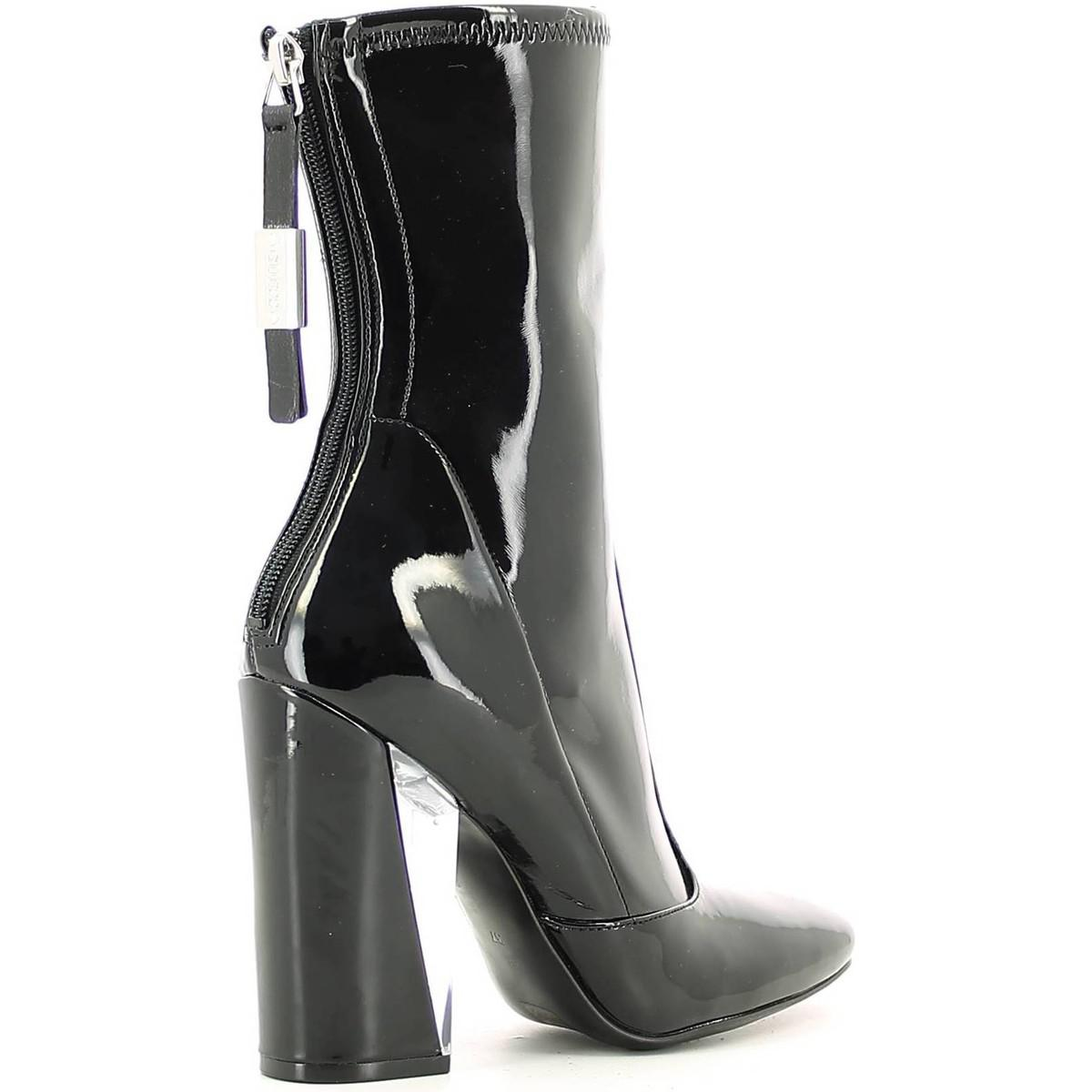 Guess Flexu4 Paf10 Boots Women Black Women's Low Ankle Boots In Black