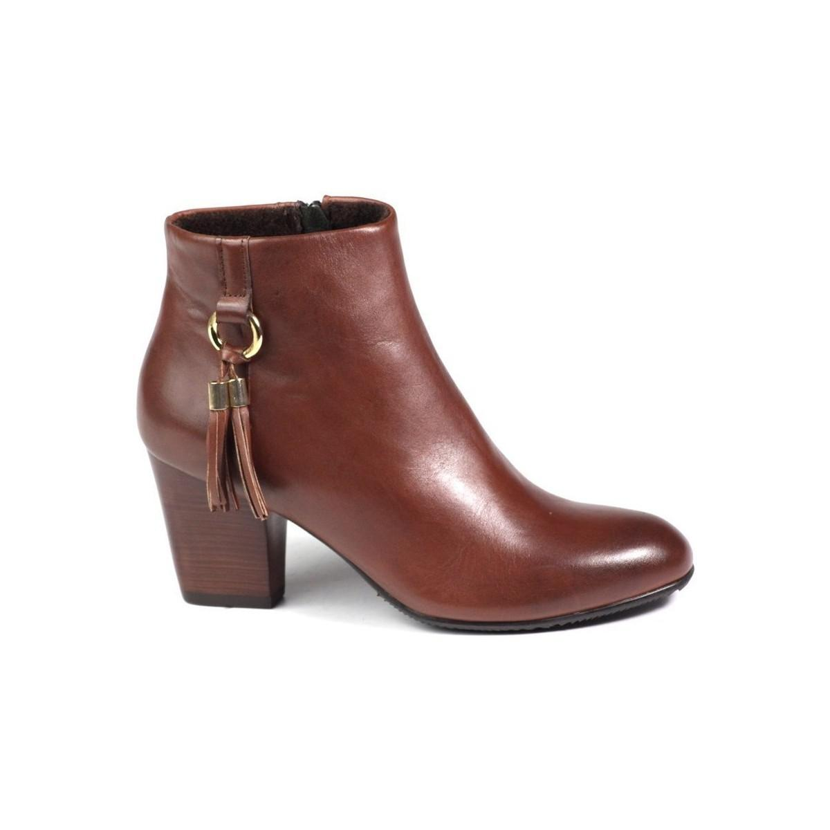 Ryłko 7cvn1ckk3 Women's Low Ankle Boots In Brown