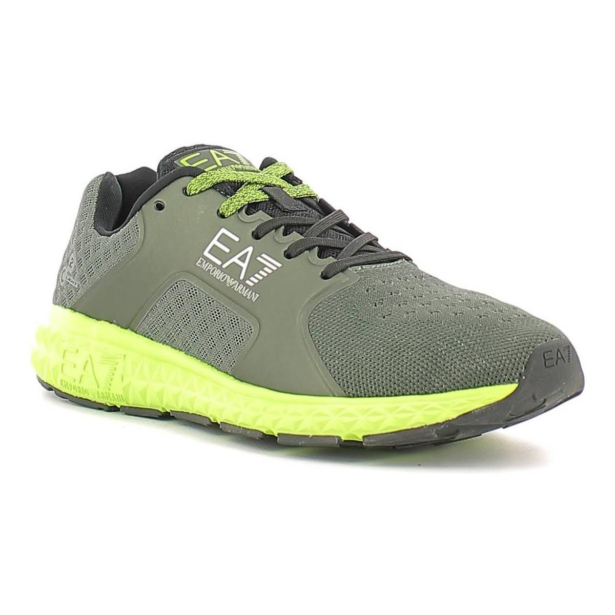 Ea7 278069 6a258 Sport Shoes Man Verde Men s Trainers In Green in ... 675c219c17b
