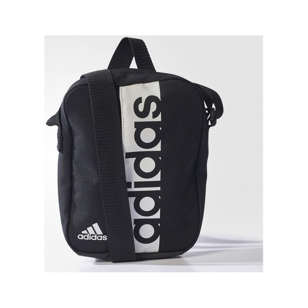 buy online a2460 ed065 adidas Linear Performance Women s Shoulder Bag In Black in Black for ...