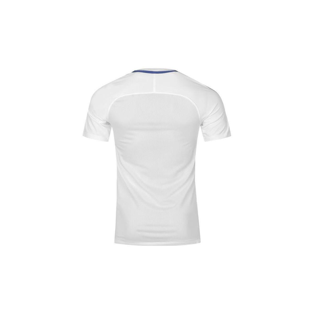 4efea7261be9 nike 2017-2018 chelsea training shirt men s t shirt in white in