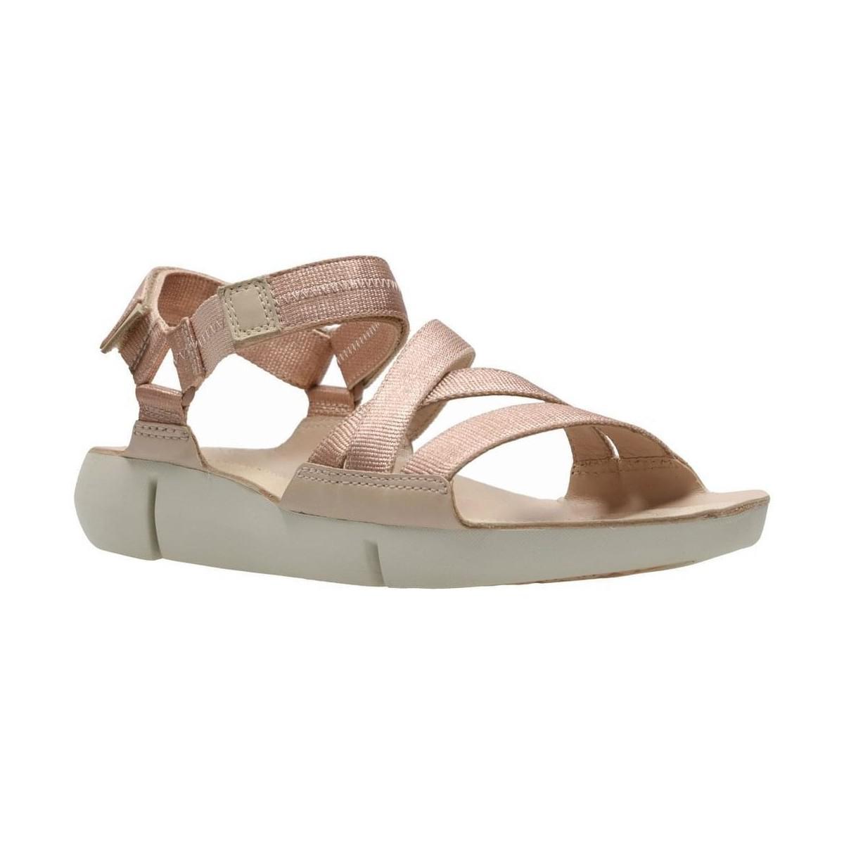 3365cf7043ba41 Clarks Tri Sienna Womens Strappy Sandal Women s Sandals In Pink in ...