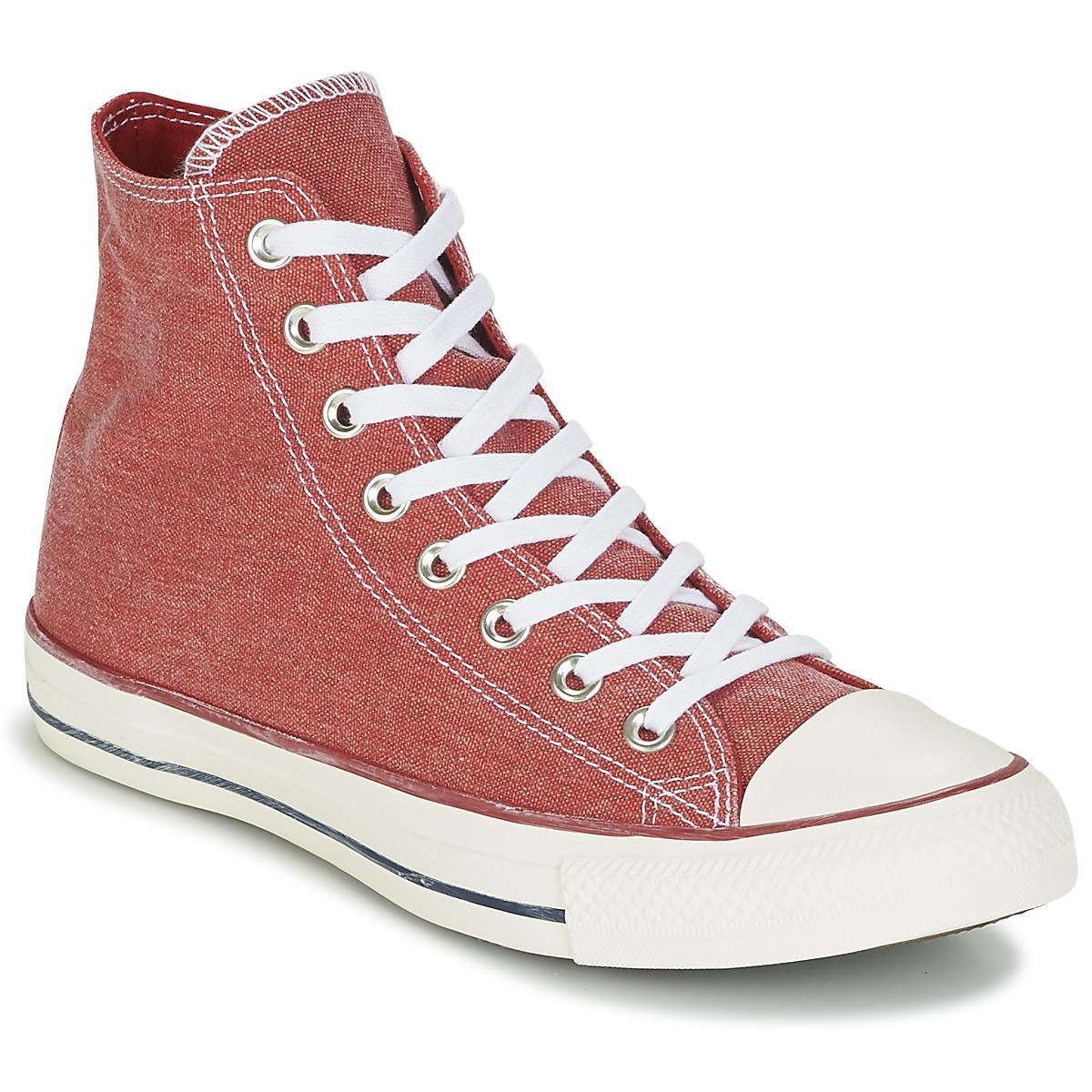 e7b6df19a3b66a Converse Chuck Taylor All Star Hi Stone Wash Women's Shoes (high-top ...