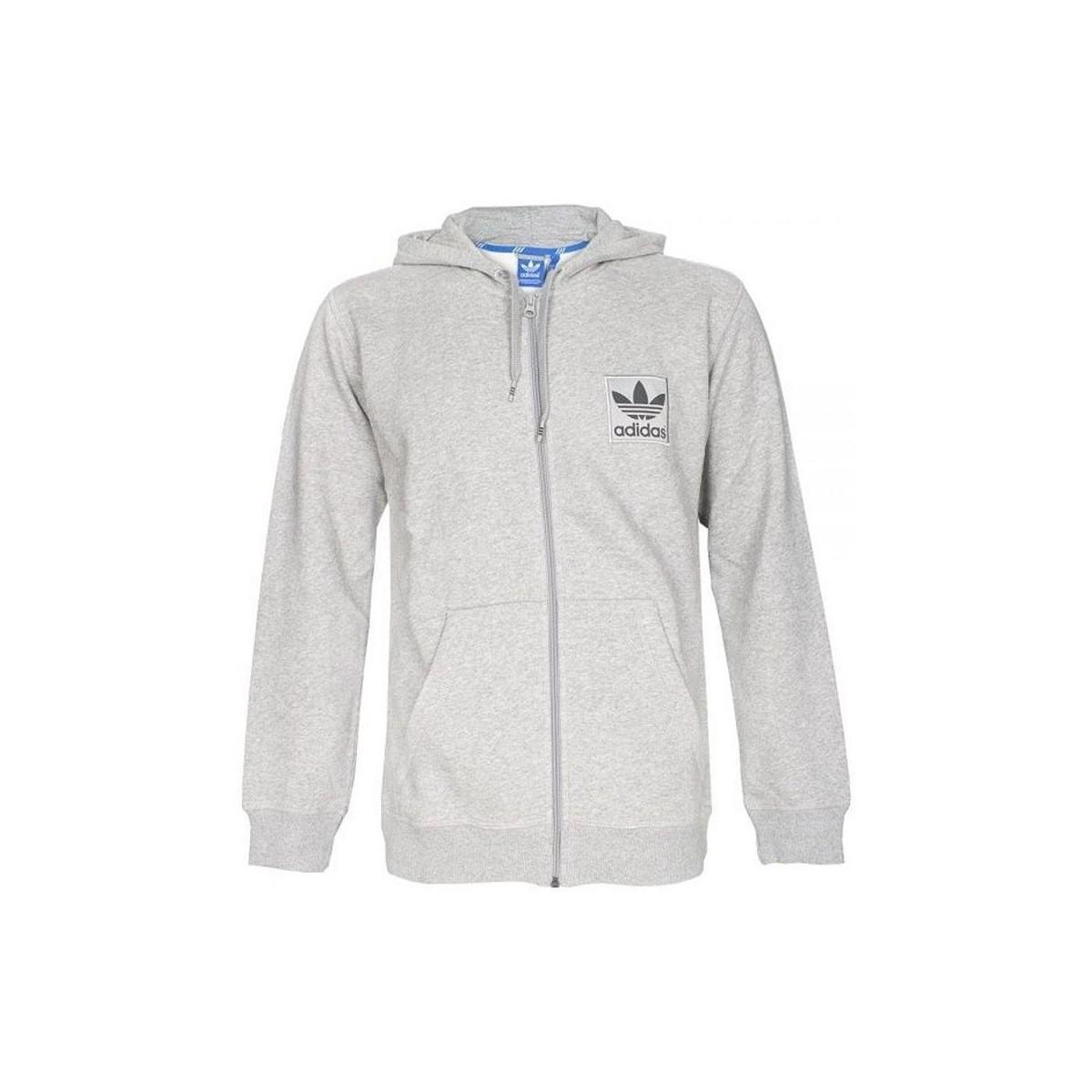 009f425561 Adidas Spess Fz Hoody Men's Sweatshirt In Grey in Gray for Men - Lyst