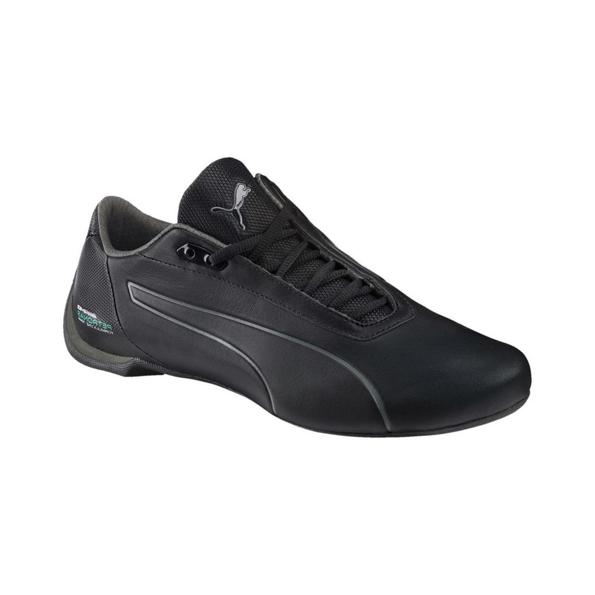 49cf89a9ba8002 PUMA Mercedes Amg Petronas Future Cat Men s Shoes (trainers) In Blue ...