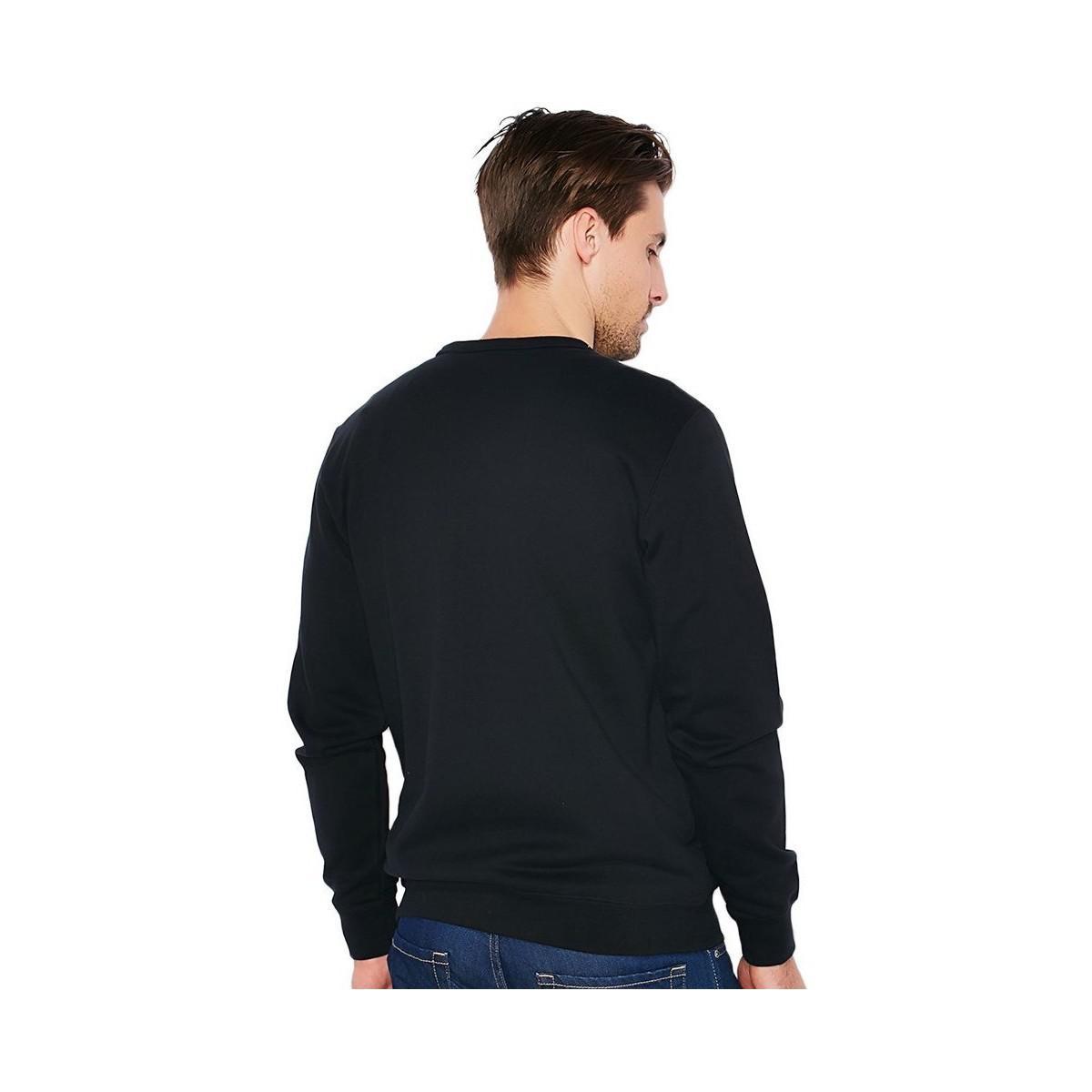 Reebok F Arch Stripe Crew Tiger Men's Sweater In Black for Men